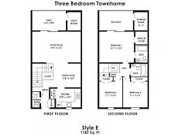 Bed Apartments Rustic Village Apartments  Townhomes - One bedroom townhome