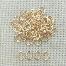 metal wire rings images Split ring jump rings jewelry making beads pearl link chain spacer jpg