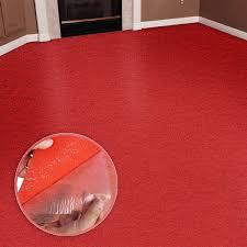 self adhesive carpet tile flooring red