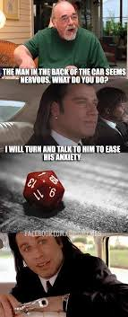 Pulp Fiction Memes - attack of the d d rpg memes iii shane plays