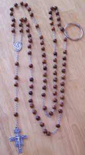 franciscan crown rosary franciscan crown rosary chain link and praise vestments
