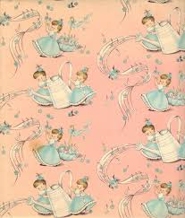 bridal shower wrapping paper 37 best inspiretro vintage wrapping images on vintage