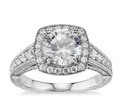 platinum halo engagement rings blue nile studio halo engagement ring in