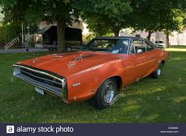 Classic Muscle Cars - dodge charger classic muscle car cars hemi 500 orange 1969 stock