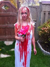 Bloody Mary Halloween Costume Kids Carrie White Costume Tutorial