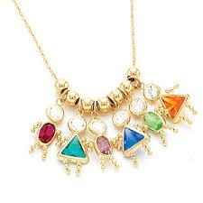 birthstone pendants for birthstone babies girl charms boscov s