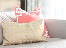 Gold And Coral Bedroom Lovely Little Accents Jess Lively