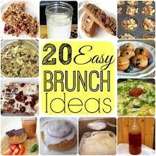 ideas for a brunch 20 easy best brunch recipe ideas