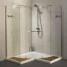 Bathroom Shower Stall Kits Modern Bathroom Design With Corner Prefab Shower Stall Kits And