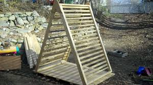 relaxshacks com another project my micro scrap wood a frame another project my micro scrap wood a frame garden trellis deck