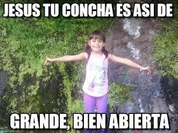 Memes De Jesus - jesus tu concha es as祗 de felicidades meme on memegen