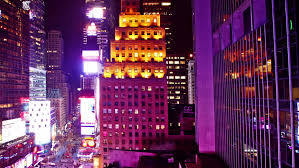 new york december 13 2016 tree decorates the facade