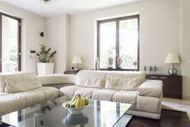 Corner Sofa In Living Room - living room with large corner sofa u2014 stock photo photographee eu