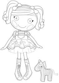 14 lalaloopsy coloring pages images drawings