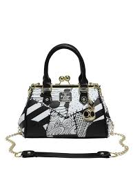 the nightmare before patchwork kisslock satchel topic