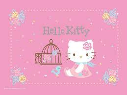wallpaper hello kitty laptop pink hello kitty wallpapers group 62