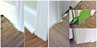 Laminate Floor Edging Trim Install Laminate Flooring Part 2 The Finishing Touches Eieihome
