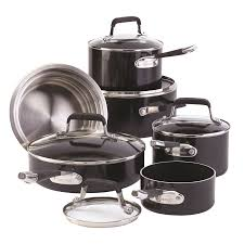 cuisine paderno copper stainless steel cookset 12 pc paderno