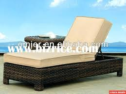 Threshold Belvedere Patio Furniture by Belize Wicker Outdoor Chaise Lounge Wicker Patio Chaise Lounge