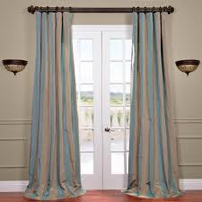 buy marin faux silk taffeta stripe curtains drapes