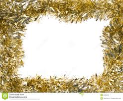 gold garland rectangular frame stock photo image of