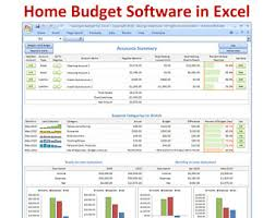 monthly budget spreadsheet planner excel home budget for