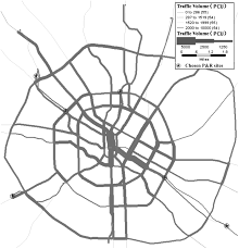 bilevel programming model for locating park and ride facilities