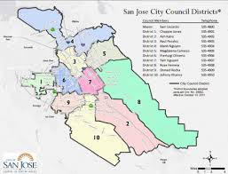 san jose district map cyclelicious san jose city council debate tonight