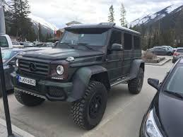 european jeep wrangler gwagon from europe in banff alberta overlanding
