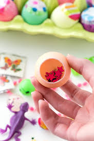 easter eggs filled with toys diy filled cascarones dyed eggs boulder locavore