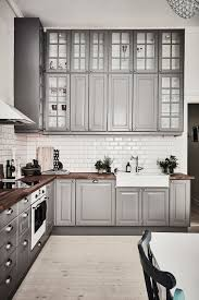 Grey Kitchens Ideas Inspiring Kitchens You Won T Believe Are Ikea Cabinet Fronts