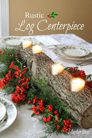 best 25 log centerpieces ideas on fall wedding