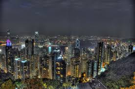 hong kong city nights hd wallpapers aerial view of high rise buildings hong kong victoria peak hd