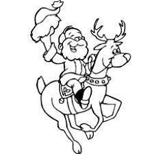 100 ideas coloring pages reindeer emergingartspdx