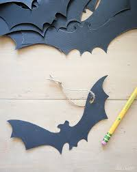 haunted halloween tree free printable bats ella claire