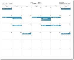 bootstrap calendar formget