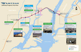 Amtrak Northeast Regional Map by Amtrak U0027s Hudson River Tunnels Project Could Bring 3 Years Of