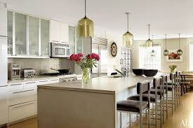 Kitchen Lights Pendant 31 Kitchens With Pretty Pendant Lighting Photos Architectural Digest