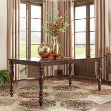 cherry dining room tables boraam black and cherry dining table 70500 the home depot