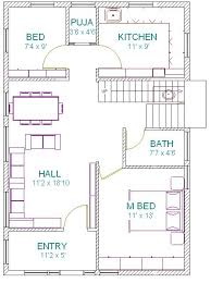 West Facing House Vastu Floor Plans South Indian East Facing House Plans House Interior