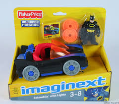 batman car toy imaginext dc super friends batman u0026 batmobile car toy fisher price