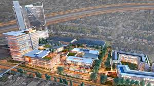 Map Of Los Angeles And Surrounding Areas by Developer U0027s 1 Billion Plan For Old O C Register Site Envisions A