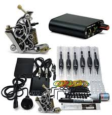 tattoo kit without machine professional tattoo kits permanent makeup pen tattoo machine needles