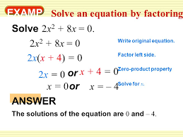 10 examp le 3 solve an equation