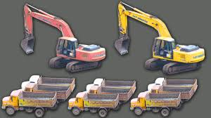 monster truck videos for construction vehicles truck videos for kids heavy equipment