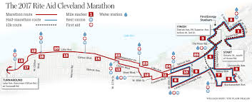 Boston Marathon Route Map by Cleveland Marathon 2017 Will Feature New Courses Finish Area
