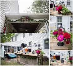 libby and nate a gorgeous backyard wedding rhode island wedding