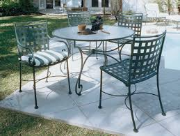 Patio Furniture Wrought Iron Dining Sets - furniture wrought iron outdoor dining table with chair using