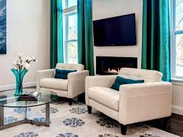 Turquoise Curtains Turquoise Curtains Living Room Homecm