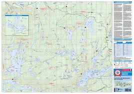 Boundary Waters Map Canoe Country Bulletin Board Bwca